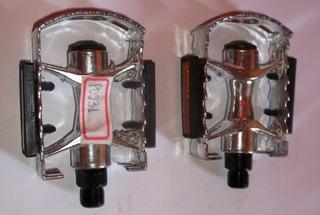Pedal Mtb Aluminio 9/16 Ingles Polido