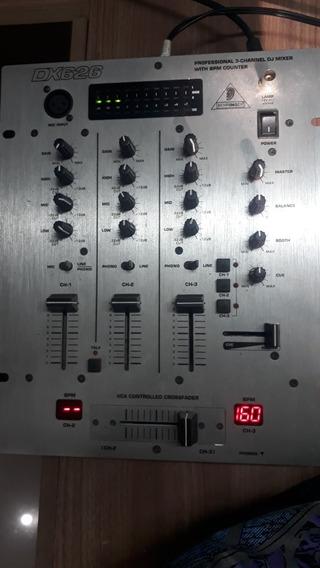 Mixer Behringer Dx626 Pro Dj Mixer Bpm Mete