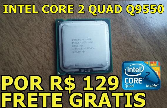 Intel Core 2 Quad Q9550 2.83ghz ( Por R$ 129 * Leia )