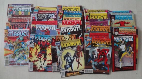 Superaventuras Marvel 1982 Abril 1 ª Série 38 Hq Gibis Raros