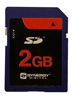 Synergy Digital - Tarjeta De Memoria Sd (2 Gb, Compatible Co