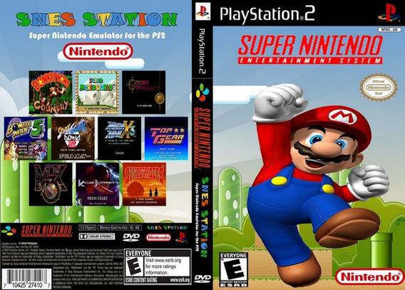 Patch Coleção Super Nintendo 3000 Jogos Ps2