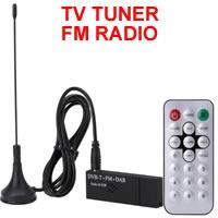 Tv Tuner Radio Mini Usb Dvb-t+fm+dab Tv Stick Usb Windows 8