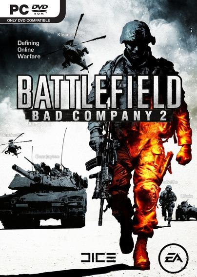 Game Pc Battlefield Bad Company 2 - Original - Novo