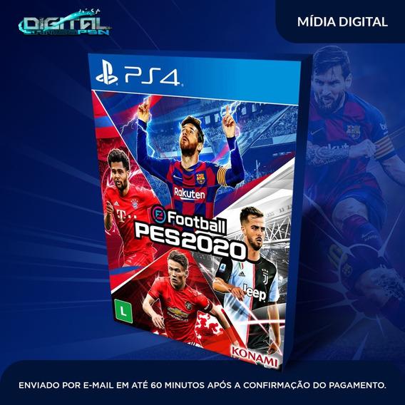 Efootball Pes 2020 | Standard Edition Ps4 Psn Receba Agora!
