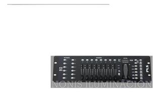 Consola Controlador Dmx 512 Profesional Con 240 Escenas 8 Bancos Pls 1216 En Cuotas Sin Intereses Con Todas Las Tarjetas