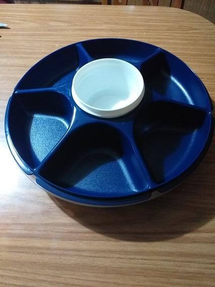 Copetinero P/ Picadas Tupperware Azul