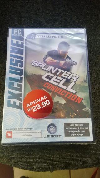 Tom Clancy S Splinter Cell Conviction Lacradinho Para Pc