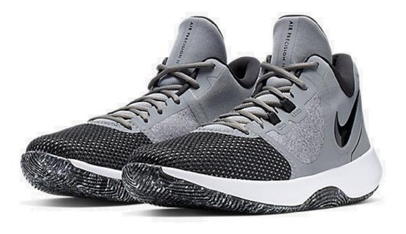 Tênis Nike Air Precision 2 Cinza Original - Footlet