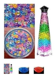 Bolitas De Hidrogel Multicolor Sobres De 50 Gramos 9 A 11 Mm