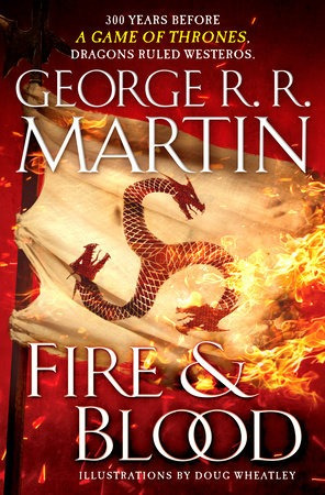 Song Of Ice And Fire,a: Fire And Blood - Bantam Kel Edicione