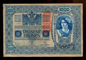 Cédula Da Áustria - De 1902 - Sob/fe - Frete Grátis - L.449