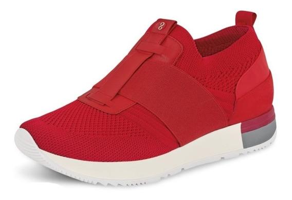 Zapato Cklass Tenis 180-58 Rojo Textil Confort Anatomico