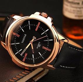 Relógio Masculino Yazole 358 Quartz Social Luxo Oferta