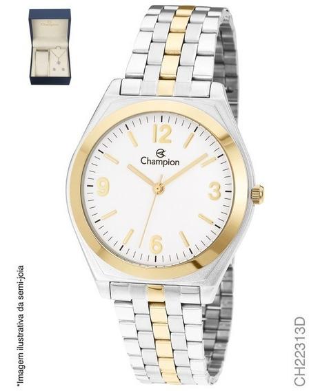 Relógio Champion Feminino Ch22313d Kit Misto
