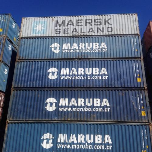 Contenedores Marítimos Containers/ Usados 40' Standard Nac.