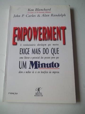 * Empowerment - Exige Mais Do Que Um Minuto - Livro