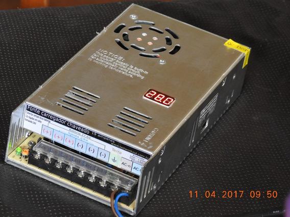 Lote 4 Fonte 24v 14a, Tip Nobreak C/ Monitor Out24v Estab
