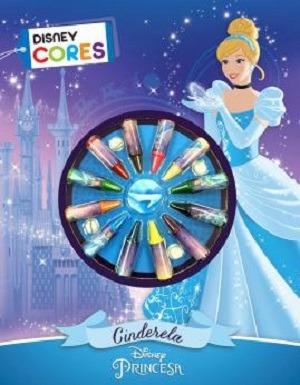 Livro P/colorir Disney Cores - Cinderela