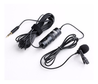 Micrófono Lavalier Boya By-m1 Para Cámaras Dslr Y iPhone