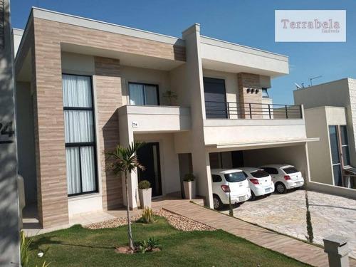 Casa Com 4 Dormitórios À Venda, 345 M² Por R$ 2.200.000,00 - Condomínio Terras De Vinhedo - Vinhedo/sp - Ca0273