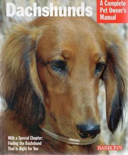 F - Dachshunds, A Complete Pet Owner