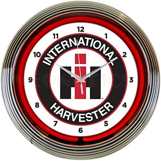 Neonetics International Harvester Reloj De Neón