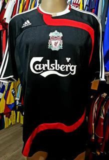 Camisa Liverpool - adidas - G - S/nº - 2007/2008