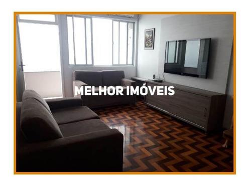 Apartamento Mobiliado Com 03 Dormitórios Sendo 01 Suíte Máster, Living, Localizado No Centro De Balneário Camboriú/sc - 2814