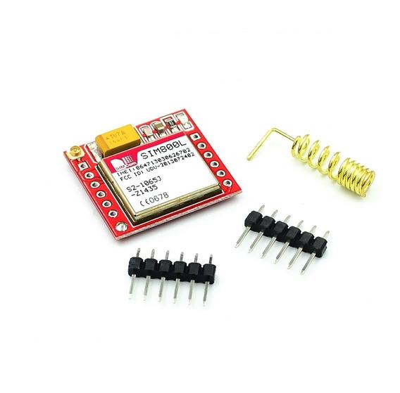 Módulo Placa Sim800l Gprs Gsm De Núcleo Cartão Microsim Quad