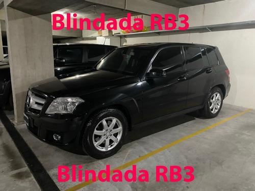 Mercedes Benz Glk 300 2011 Blindada Rb3 - Impecable