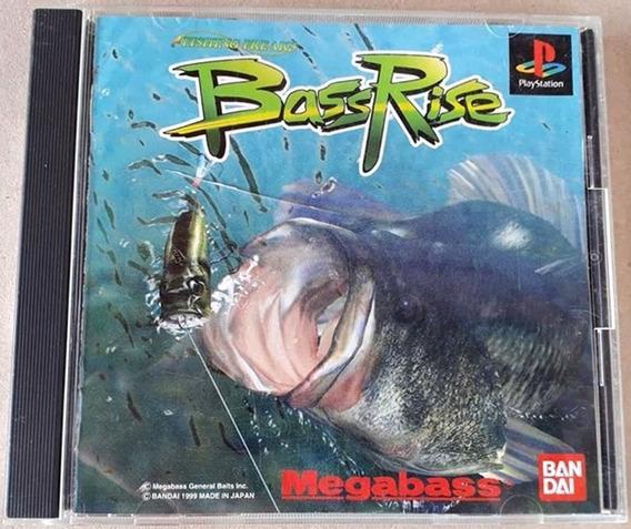Jogo Bass Rise Ps1 Playstation Psx Japonês Original Bandai