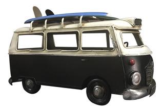 Camioneta Color Negro Cargo Coleccion Miniatura