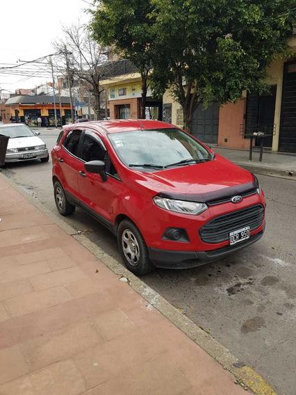 Ecosport 1.5 S Diesel 2014 Rojo