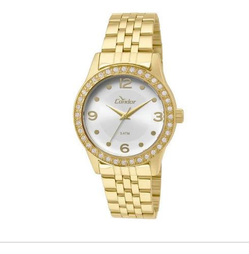 Relógio Condor Feminino Co2035koy/4k Dourado