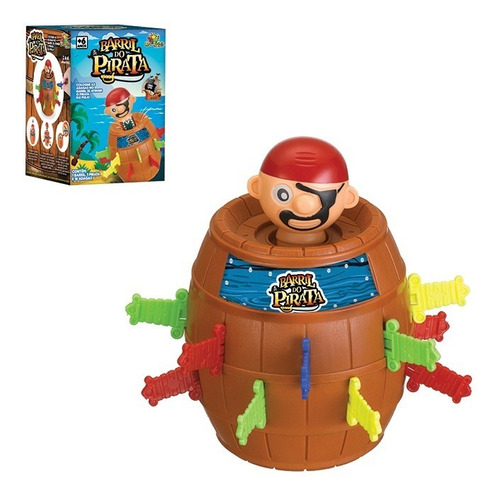 Brinquedo Pula Pirata Tamanho Grande