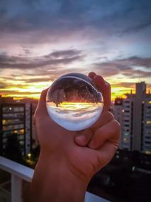 Bola Esfera De Cristal Similar Lens Ball 80 Mm
