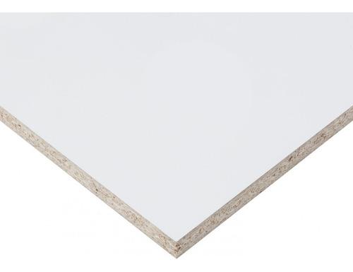Placa Melamina Blanca Aglomerado Faplac 18mm 1,83x2,75 Mts