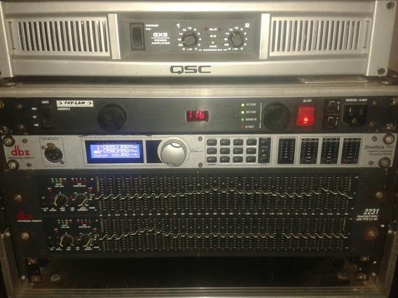 Vendo Amplificador Qsc Gx5 Perfecto Estado Casi Nuevo
