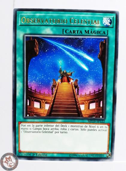 Yugi-oh! Observatorio Celestial Mp19-sp122 Rare