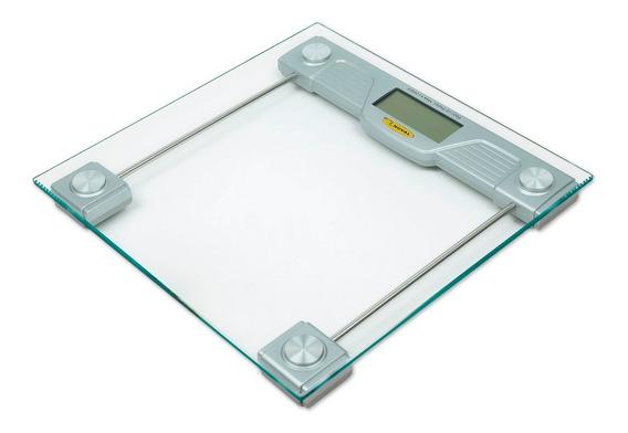 Bascula De Baño Cristal Digital 150 Kg. Noval Eb-9013
