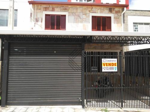 Sobrado Com 3 Dormitórios, Sendo 1 Suíte Com Hidro E Sacada À Venda, 167 M² Por R$ 430.000 - Centro - Sorocaba/sp - So4351
