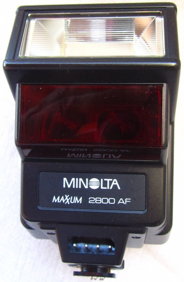 Minolta Af Flash 2800 Maxxum Vintage 1985 P
