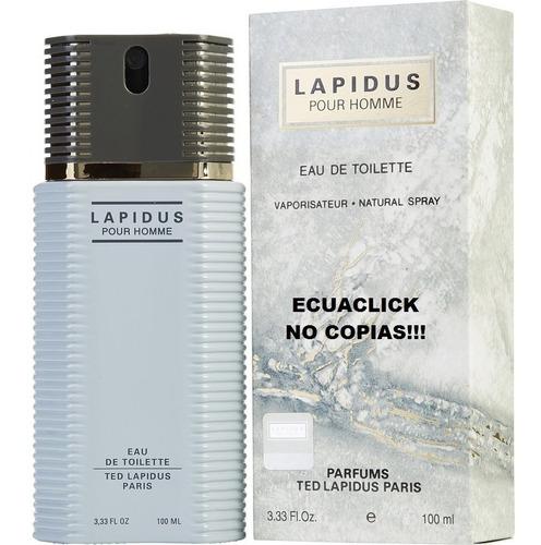 Perfume Ted Lapidus 100ml ... No Copias! ( Somos Ecuaclick )
