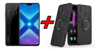 Cel Huawei Honor 8x 64gb 4gb Global + Fone + Capa Anti Shock