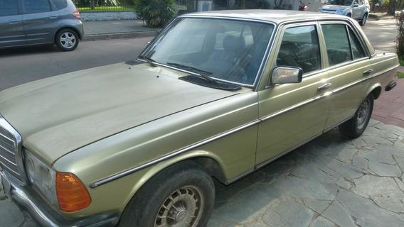 Mercedez Benz 230 E Sedan Verde 4 Puertas