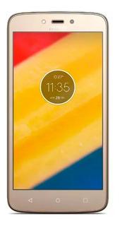 Motorola Moto C Plus Muy Bueno Dorado Para Claro