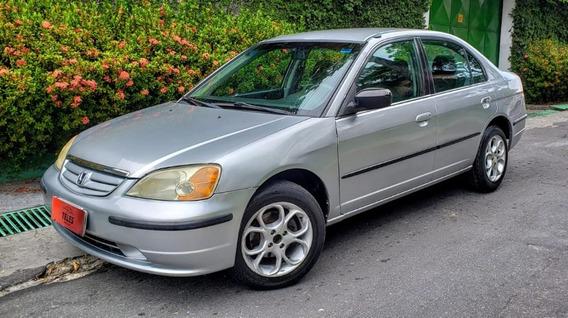 Honda - Civic Lx 1.7 16v At