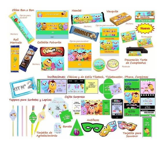 Kit Imprimible De Bichitos Del Reino Infantil