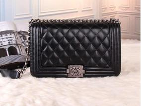 2 Bolsas Chanel Lê Boy Preta+ Clássica Promoção !!